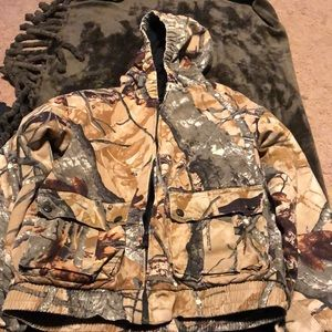 Size xxl boys camo coat